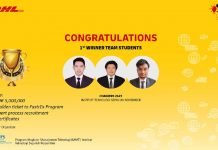 Chainers2627 win DHL Logistic Case Competition